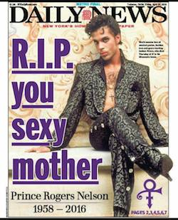 Prince Rogers Nelson , tributes, Daily News,sexuality, pop music