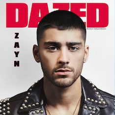 Dazed magazine, interview, Zayn Malik, anxiety