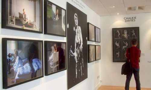 David Bowie , exhibition, auction, Photography,Chalkie Davies, Denis O'Regan, Ziggy Stardust