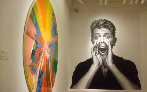 Damien Hirst,David Bowie, Sotheby's, auction, art, furniture