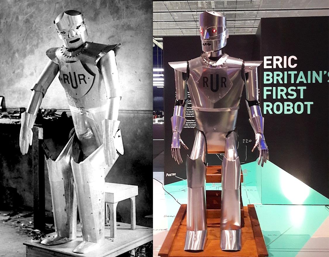 Resultado de imagem para Eric the Robot
