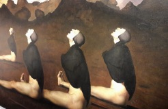 Odd Nerdrum, painting, David Bowie, Sotheby's, auction, contemporary art,