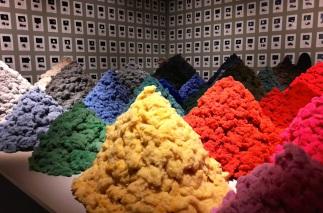 exhibitions, Fear and Love, Christien Meindertsma,Design Museum, Kensington, London