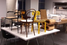 Marcel Breuer, chairs, design, London, Design Museum, Kensington, Frank Gehry ,