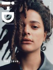 i-D, magazine, winter 2016, issue 346,Sasha Lane'