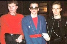 Rusty Egan, Steve Strange, Midge Ure, Visage, pop music,