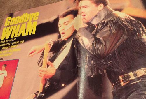 George Michael, Andrew Ridgeley, Wham! , tributes, nightclubbing, pop music, fashion