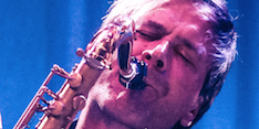 Steve Norman, solo, Spandau Ballet, saxophone, live, audience, Pizza Express, pop music