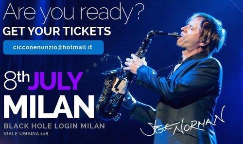 Steve Norman, Spandau Ballet, live, festivals, saxophonist