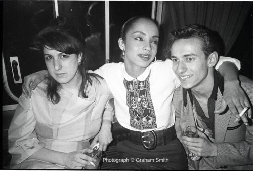 clubbing, Melissa Caplan, Paul Simper, Sade Adu, Swinging 80s