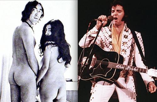 John Lennon ,Yoko Ono, Elvis Presley, interviews
