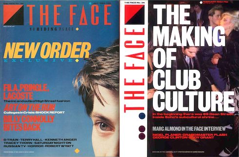 art schools, The Face, magazine, fashion, style, music, nightclubbing, cuttings, subcultures, analysis, history, Swinging 80s, London