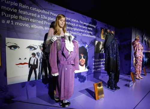 Prince Rogers Nelson, exhibition, The O2, London, music videos, My Name Is Prince, pop music,costumes, guitars