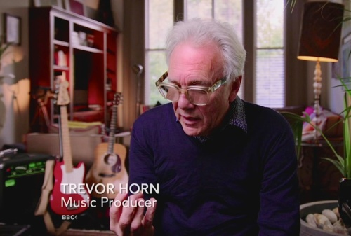 Trevor Horn, pop music, production, science, TV, documentary
