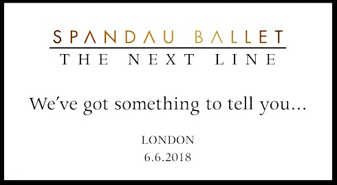 Spandau Ballet, breaking news