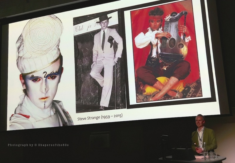 Blitz Kids, New Romantics, fashion, pop music, Swinging 80s, archive, nightlife, Steve Strange, Keith Lodwick, lunchtime lecture, V&A museum,