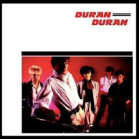Duran Duran, debut album 1981,new wave, synthpop, sleeve, pop music,