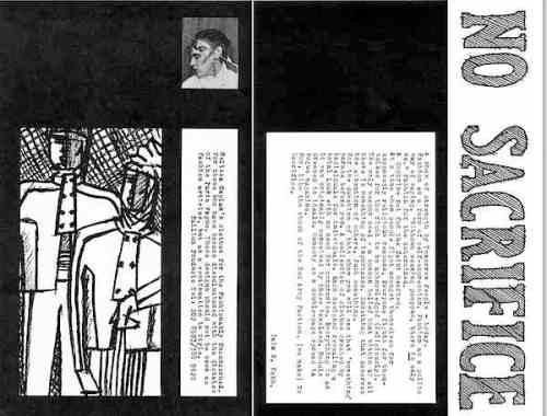 Melissa Caplan, No Sacrifice, Chenil Gallery, fashion, runway show. Iain R Webb, 1980