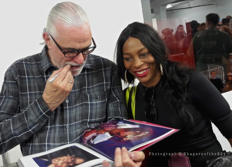 books, Derek Ridgers Photographs, book, launch, party, pop-up exhibition,Sheronne,