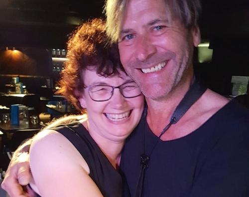 Steve Norman,Rebecca Slight, selfie, pop music, London