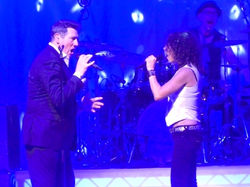 Tony Hadley, pop music, UK tour,Lily Gonzalez, Manchester Opera House