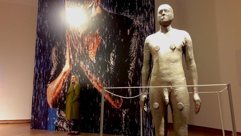 Antony Gormley, Christie's London, auction, art, George Michael, sex,