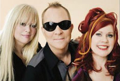 B-52s, pop music, European tour, US tour, new wave, Fred Schneider, Kate Pierson, Cindy Wilson