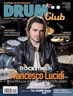 Francesco Lucidi, Rock music, Rocketman,