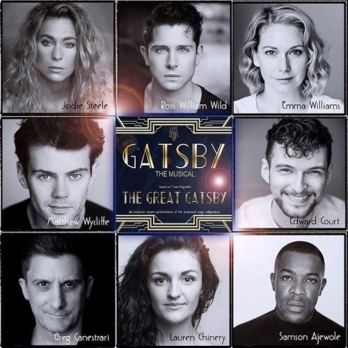 Gatsby the Musical, Crazy Coqs, London, brasserie zedel, Jodie Steele, Ross William Wild,