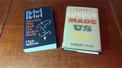 Chris Sullivan, Robert Elms, talk, Standard Hotel, London, history, nightlife, memories, books, publishing, rebels, Canongate, Unbound,