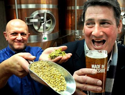 Great Yorkshire Brewery, Tony Hadley, Gold, lager, pop singer,