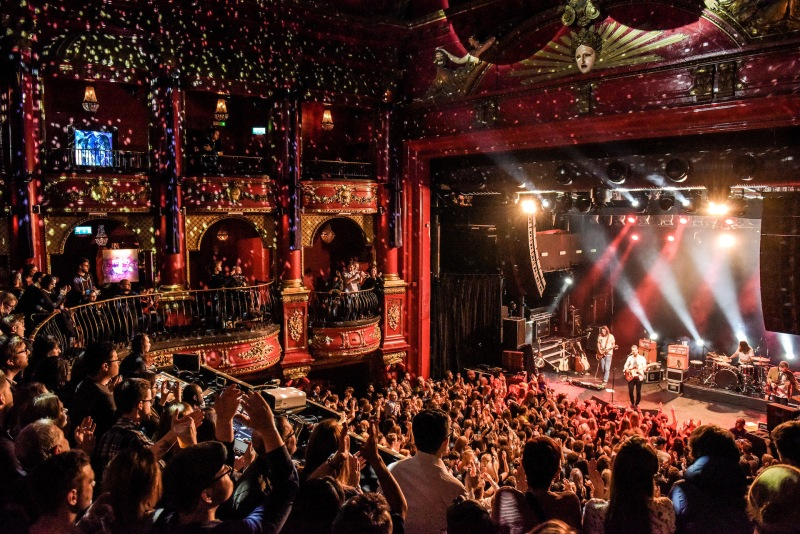 Koko, Camden Theatre, Camden Palace, nightclubbing, music venue, fire, architecture, Music Machine,