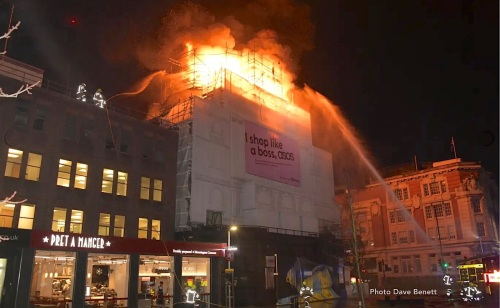 Koko, Camden Theatre, Camden Palace, nightclubbing, music venue, fire, architecture, Music Machine,