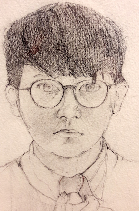 David Hockney, Drawing from Life, National Portrait Gallery, Reviews,