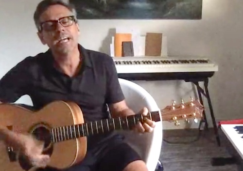 Nick Heyward, Facebook Live, pop music, corona, diversion,