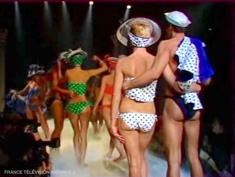 Antenne-2, Blitz Kids, British fashion, le Palace, Paris, April 1982,