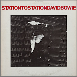 David Bowie, Station to Station, album sleeve , pop music