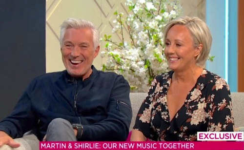 Martin Kemp, Shirlie Kemp, Wham!, Spandau Ballet, In The Swing Of It, Lorraine Kelly,
