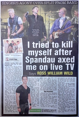 Spandau Ballet, Ross William Wild, Gary Kemp, Martin Kemp, Steve Norman, pop music,