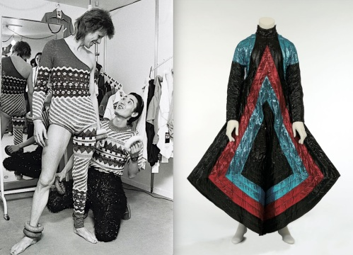 Fashion, Japan, designer, stage costumes, Kansai Yamamoto, David Bowie