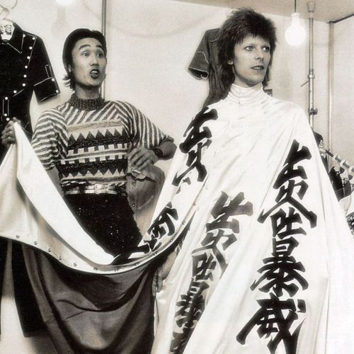 Fashion, Japan, designer, stage costumes, Kansai Yamamoto, David Bowie,