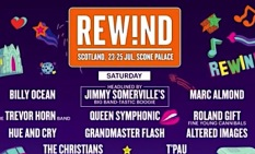 RewindFestival21, North, South, rock music,Scotland, July