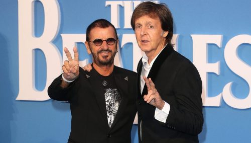 anniversary, Ringo Starr, Paul McCartney, Ludwig drums,
