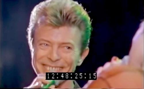 David Bowie, Morrissey,  duet, LA Forum,