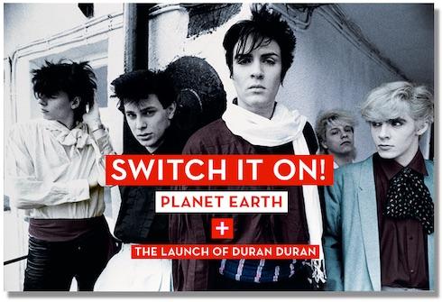 Steve Jansen, Duran Duran, debut, Planet Earth, history
