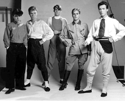 Spandau Ballet , Willy Brown, Simon Withers, pop music