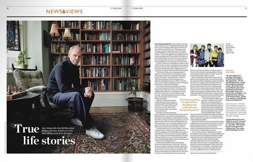 Waitrose, Gary Kemp, interview