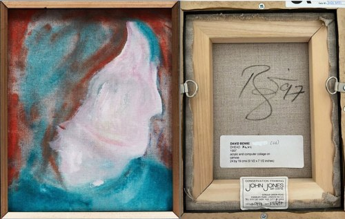 David Bowie, Cowley Abbott, discovery, Dead Heads,auction, paintings,