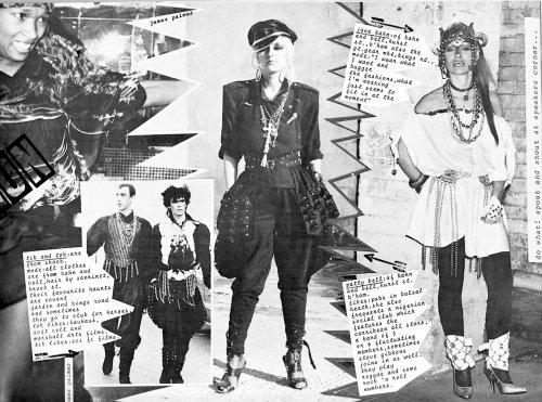 i-D Magazine,Fashion, Swinging 80s, Gary Lindsay-Moore, Kahn & Bell, Birmingham Rag Market,