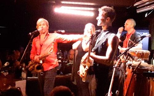 Sleevz, Pizza Express Live, Steve Norman, pop music, concert